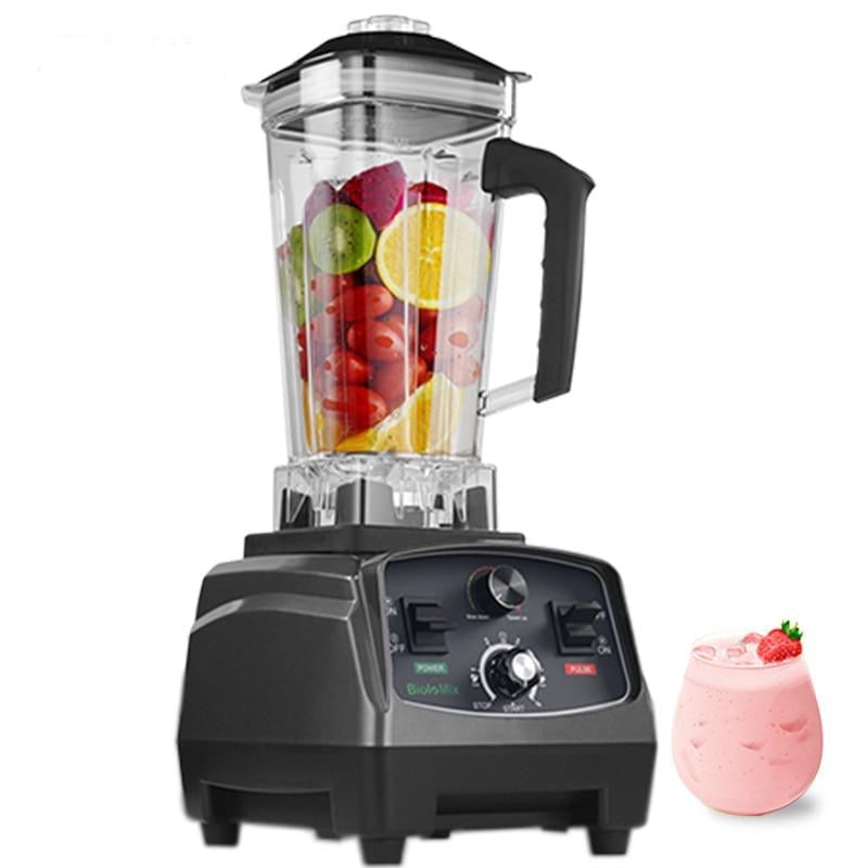 3HP 2200W Commercial Grade Automatic Timer Blender Mixer