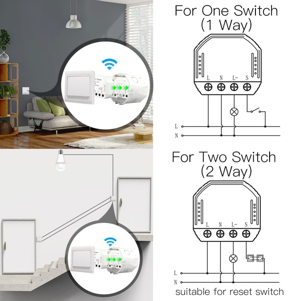 DIY Smart WiFi Light LED Dimmer Switch
