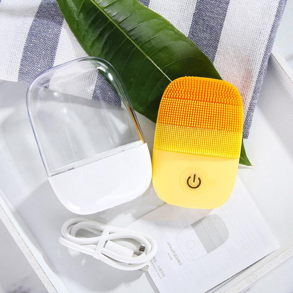 Electric Deep Facial Cleaning Face Washing IPX7 Waterproof