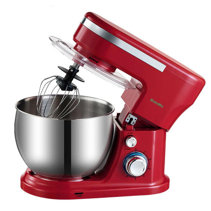 1200W 5L Stainless Steel Bowl 6-speed Kitchen Food Stand Mixer - HomegoPlus