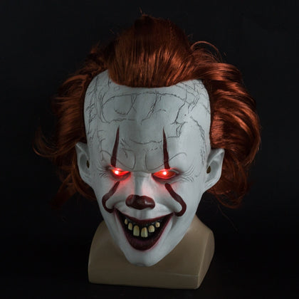 Halloween Cosplay LED Clown Mask Cosplay - HomegoPlus