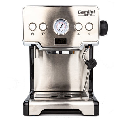 Stainless Steel Top Espresso Machine 15Bar 220V - HomegoPlus