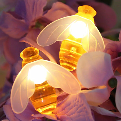Solar LED String Lights Bee - HomegoPlus