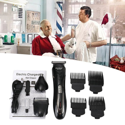 Multi-Function Electric Bald Hair Clipper - HomegoPlus