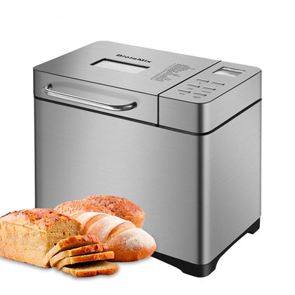 Stainless Steel 1KG 17-in-1 Automatic Bread Maker 650W - HomegoPlus
