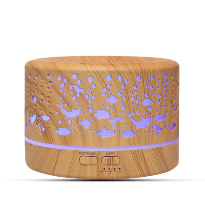 700ml Sea World Aroma Diffuser Essential Oil Humidifier - HomegoPlus