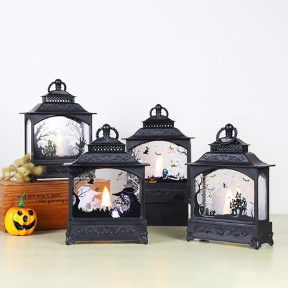 Halloween Pumpkin Light Lamp Door Room Decoration - HomegoPlus