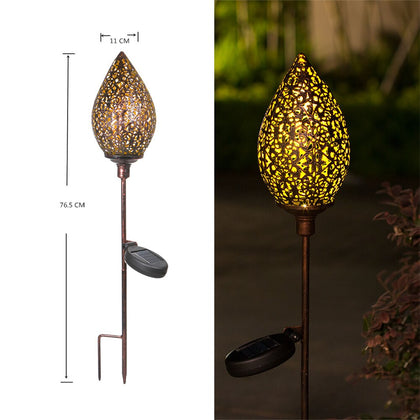 Garden Solar Lights Pathway Outdoor Solar Stakes Lights Waterproof - HomegoPlus