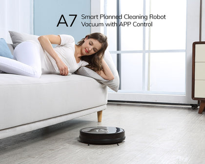 ILIFE A7 Robot Cleaner Vacuum Smart APP Remote Control - HomegoPlus