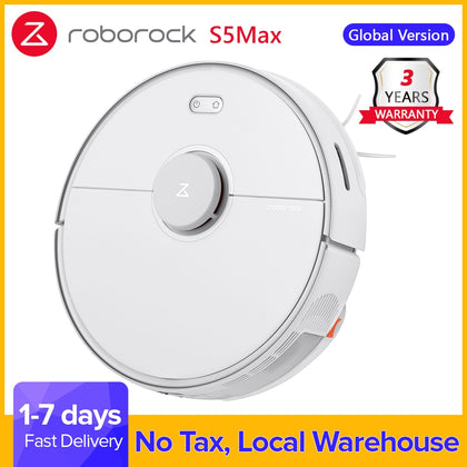 Roborock S5 Max Robot Vacuum Cleaner Automatic Sweeping Mopping - HomegoPlus