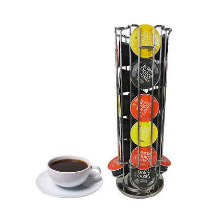 Coffee Pods Holder 24 Capsule Storage Rack - HomegoPlus