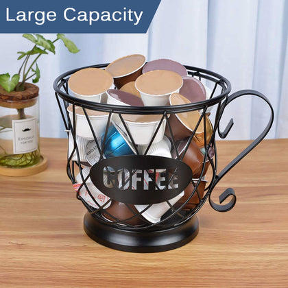 Universal Coffee Capsule Storage Basket Organizer Holder - HomegoPlus