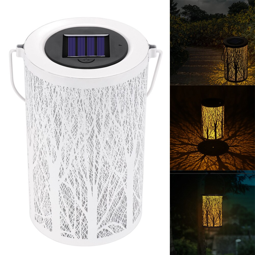 Outdoor Solar Lamp Night Lifting Handle Hanging