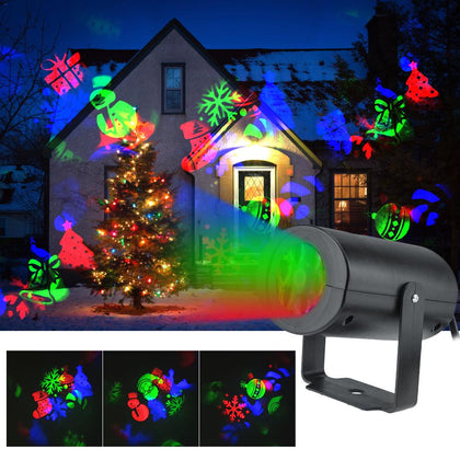 12 Patterns Christmas LED Projector Light