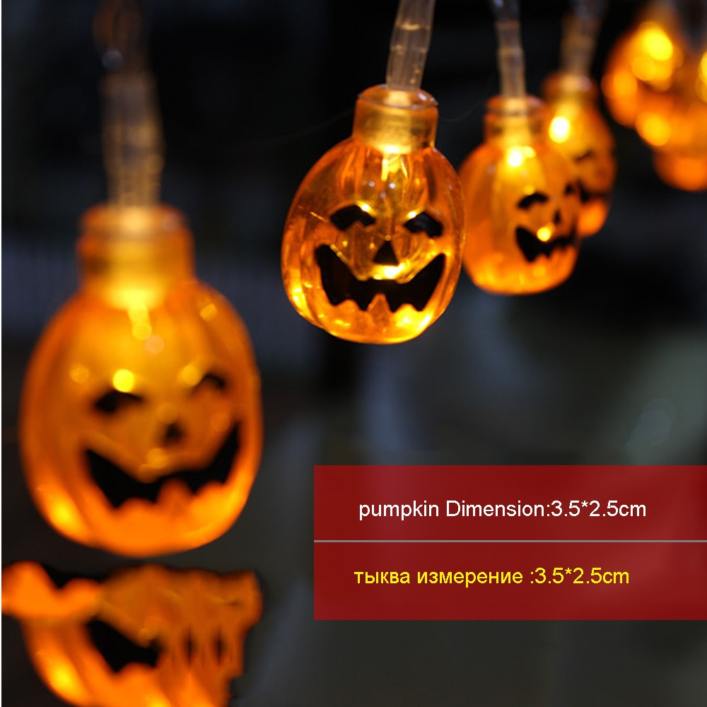 LED light String Halloween Holiday lights 1.5M