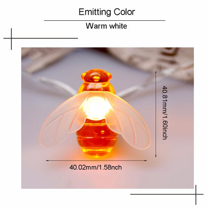 LED Light String Holiday Lights Bees - HomegoPlus