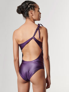 NAMMOS DAZZLE SWIMSUIT - PURPLE