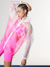Load image into Gallery viewer, NEON PINK BOMBER JACKET  OS