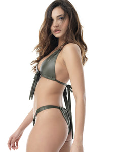 MAGIC DAZZLE BIKINI - SET (KHAKI)