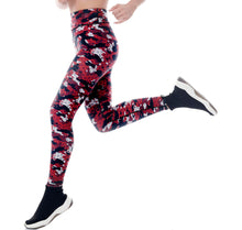 Load image into Gallery viewer, CYBER CAMO POWER LEGGINGS - LONG  ******WEB-ONLY******