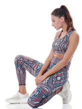Load image into Gallery viewer, INTERSTELLAR PLACEMENT PRINT LEGGINGS - MARS ****WEB-ONLY****