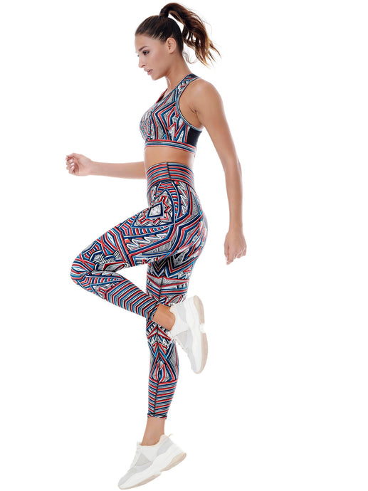 INTERSTELLAR PLACEMENT PRINT LEGGINGS - MARS ****WEB-ONLY****