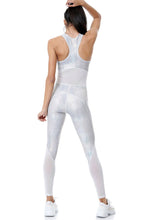 Load image into Gallery viewer, WILD SHINE POWER JUMPSUIT - WHITE