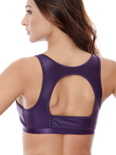 Load image into Gallery viewer, CHALLENGE SPORT BRA - PURPLE