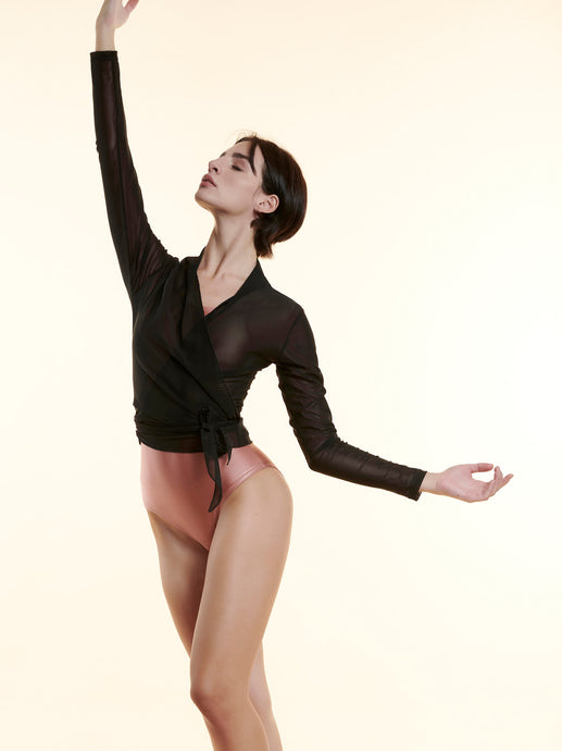 BALLET LIGHTWEIGHT COVER-UP - BLACK