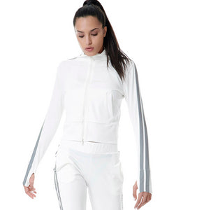REFLECTIVE RUNNER JACKET - WHITE