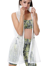 Load image into Gallery viewer, AESTHETE LONG DRESS VEST WHITE