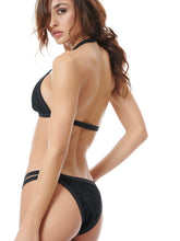 Load image into Gallery viewer, STARGAZER BIKINI SET - BLACK/BLACK