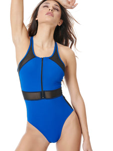 ELLYSIAN SWIMSUIT - BLUE