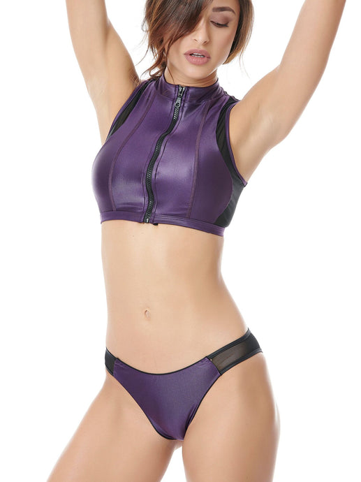 DAZZLE KNOCKOUT  BIKINI - SET (PURPLE)