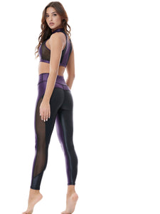 DAZZLE TWICE MESH LEGGINGS (P/B)