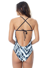 Load image into Gallery viewer, WATERMARK DOUBLE PRINTED SWIMSUIT (X BACK)