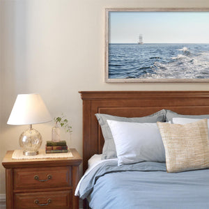 Cape Cod sailing the waves print