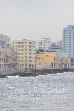Havana waterfront in pastel print