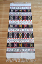 Peruvian South American style vintage wool rug or wall hanging