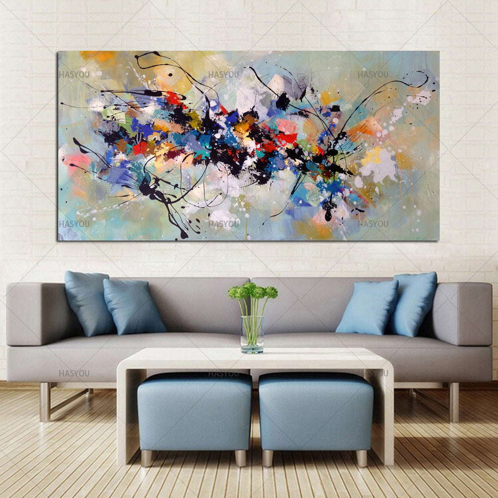 Abstract Oil Paintings on Canvas 100% Hand Painted
