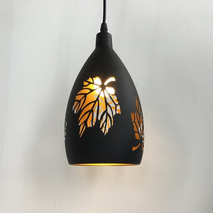 Modern LED Hollow Metal Cage Pendant Lamp