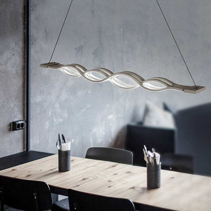 Wave Design Pendant Light