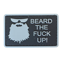 Beard The Fuck Up - PVC Patch - Large