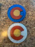 Resin Coasters (Set of Four)