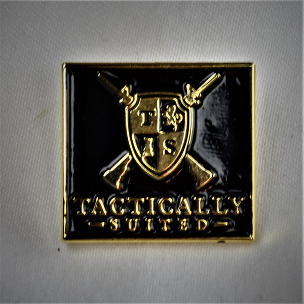 Tactically Suited Lapel / Tie Pin