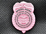 AFOSI Badge - Pink Lapel Pin