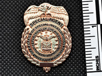 AFOSI Badge - Gold Lapel Pin (Subdued)