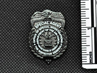 AFOSI Badge - Tactical Black Lapel Pin