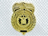 "AFOSI 1"" Mini Badge - Gold Lapel Pin (Shiny)"