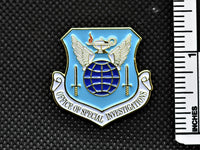 AFOSI Shield Lapel Pin